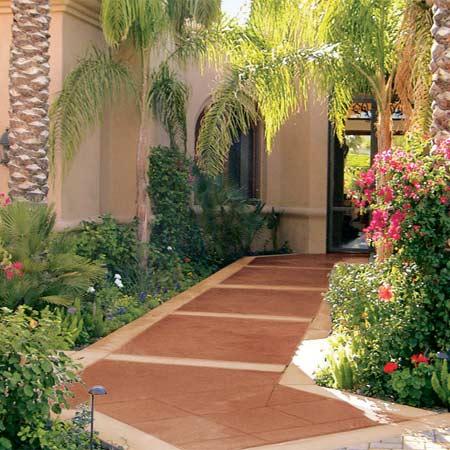 DIY Concrete Patio Cover Up Ideas | The Garden Glove on Diy Concrete Patio Ideas id=37251