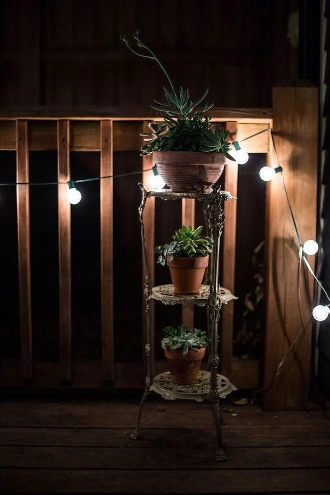 Deck Container Garden Ideas