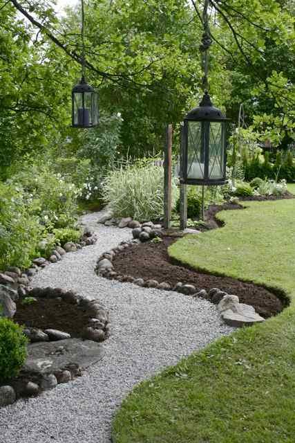 7 Classic DIY Garden Walkway Ideas & Projects | The Garden ... on Backyard Walkway Ideas id=97085