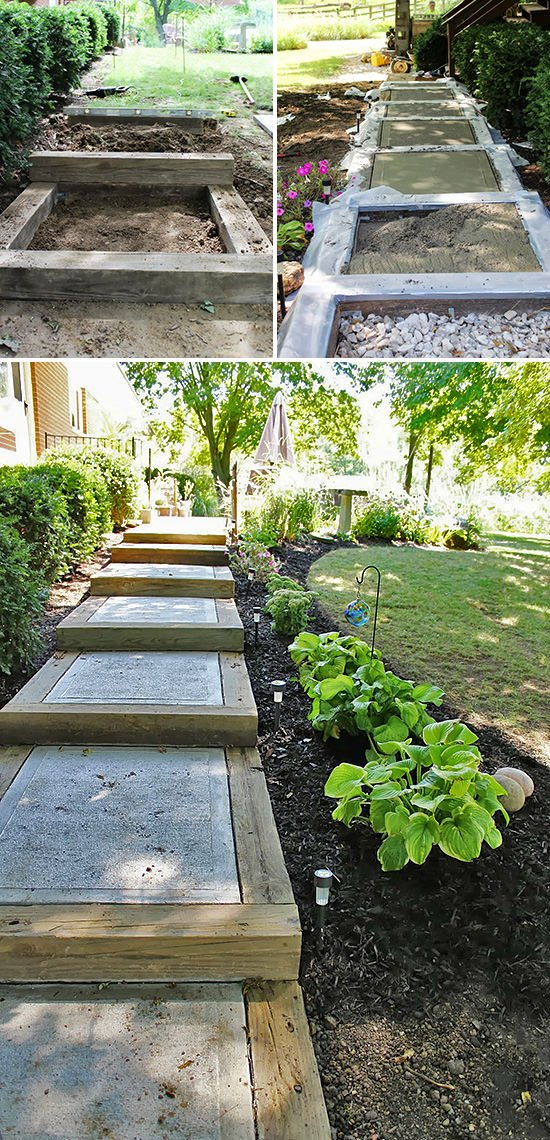 Step by Step! : DIY Garden Steps and Stairs | The Garden Glove on Backyard Stairs Ideas id=74599