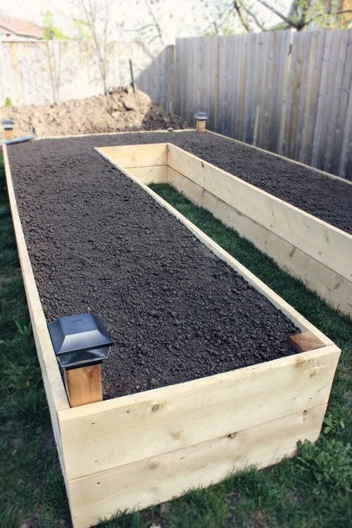 diy raised garden beds planter boxes