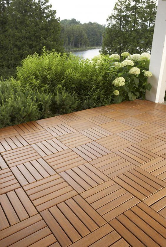 9 DIY Cool & Creative Patio Flooring Ideas • The Garden Glove on Diy Concrete Patio Ideas id=54279