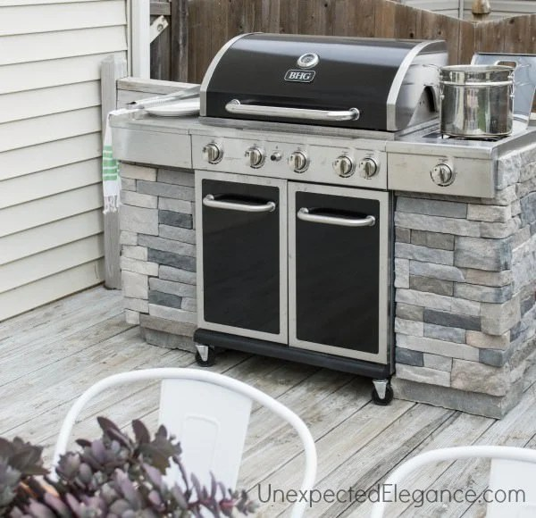 DIY Outdoor Kitchens and Grilling Stations | The Garden Glove on Patio Kitchen Diy  id=93752