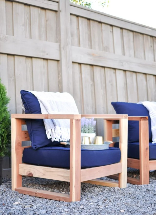 easy diy outdoor garden & patio furniture | the garden glove