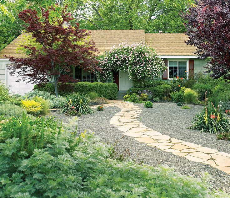 Alternatives to Grass : Front Yard Landscaping Ideas • The ... on Turf Yard Ideas id=41917