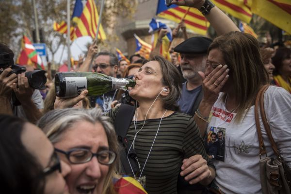 Some separatist-minded Catalans urge civil disobedience ...