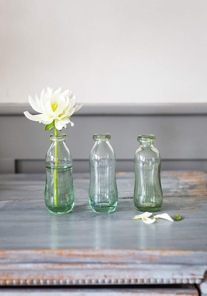 Kleine Glasvasen The Garden Shop