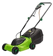 Aldi essential 32cm electric mower back for 2015 the for Aldi gardening tools 2015
