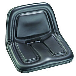 Replacement seats for ride on lawnmowers and garden tractors.