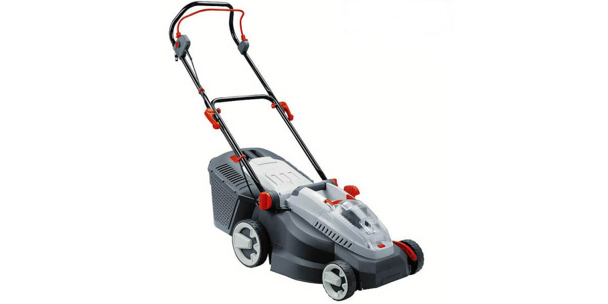 Ryno 36 volt cordless lawnmower at The Range