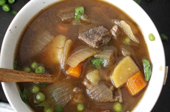 Crock Pot Pepper Beef Stew