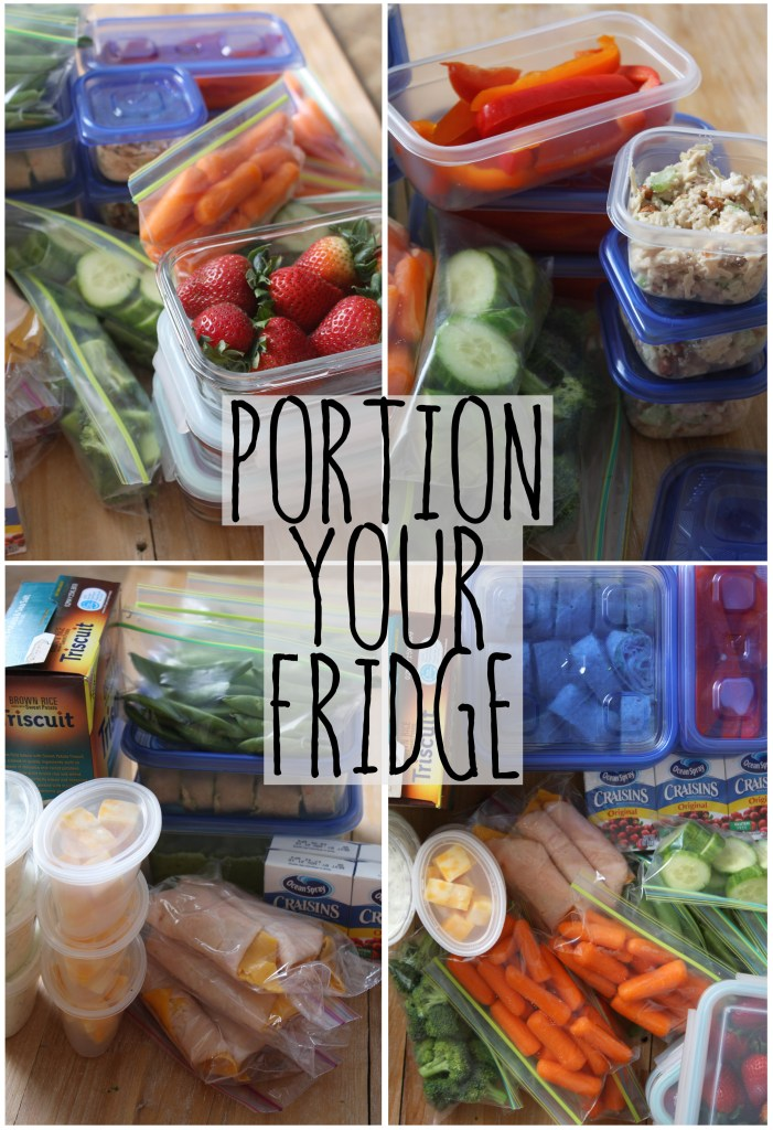 Portion Your Fridge! -- TheGarlicDiaries.com
