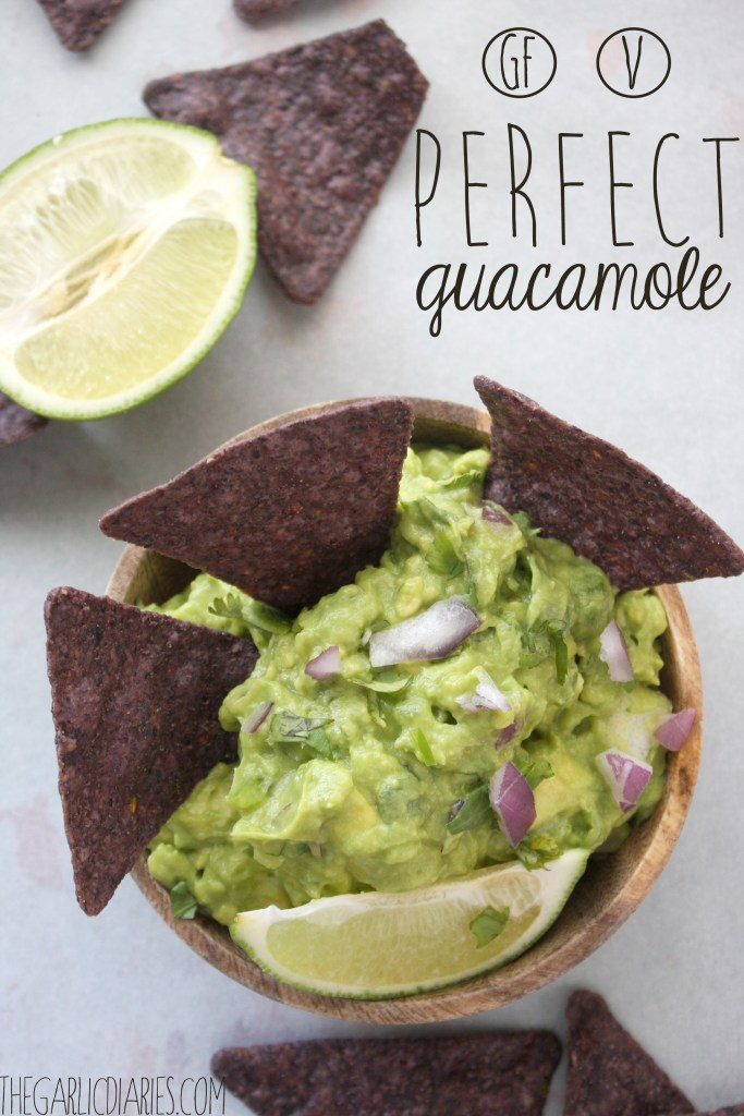 Perfect Guacamole -- TheGarlicDiaries.com