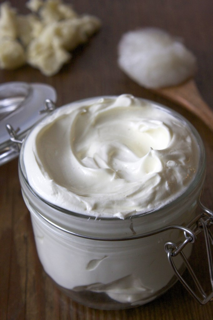 Homemade Whipped Eucalyptus Shaving Cream -- TheGarlicDiaries.com