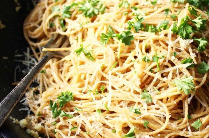20 Minute Lemon Parmesan Pasta