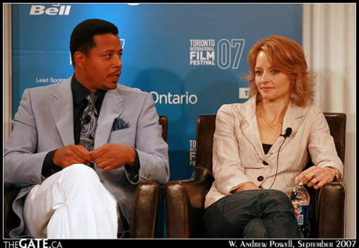 Terrence Howard and Jodie Foster