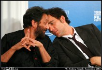 Shekhar Kapur and Clive Owen