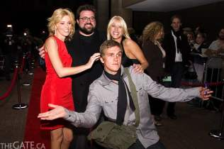 Elizabeth Banks, Kevin Smith, Katie Morgan and Jason Mewes