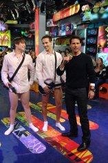 Tom Cruise judges a guitar battle