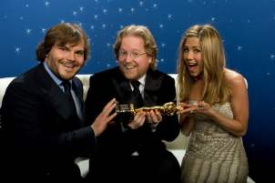 Jack Black, Andrew Stanton & Jennifer Aniston