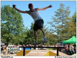 Wakestock skateboarder