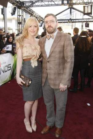 Leah Miller and Dallas Green