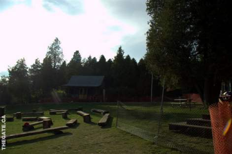 Camp Rock 2 Set - Camp Fire Circle