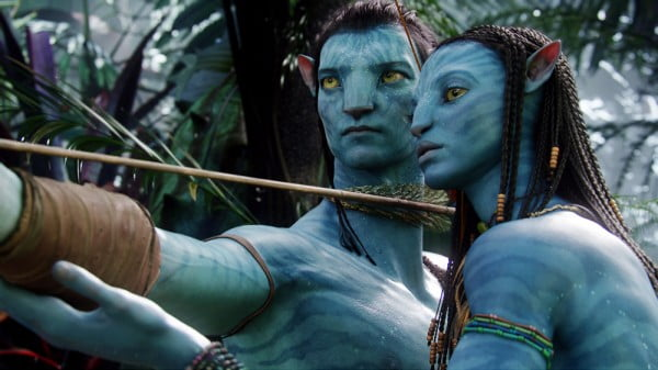 A scene from James Cameron's 'Avatar'