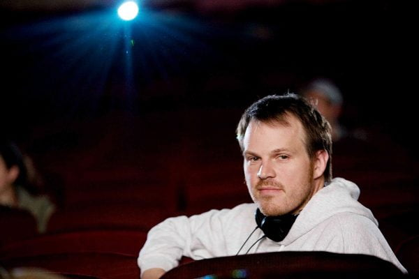 Director Marc Webb on the set of 500 Days of Summer