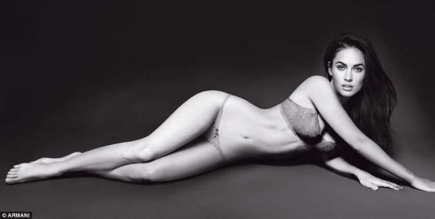 Megan Fox - Armani Underwear model