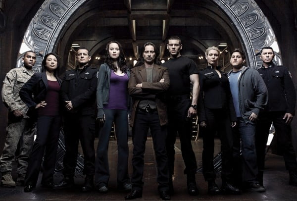 The cast of Stargate Universe