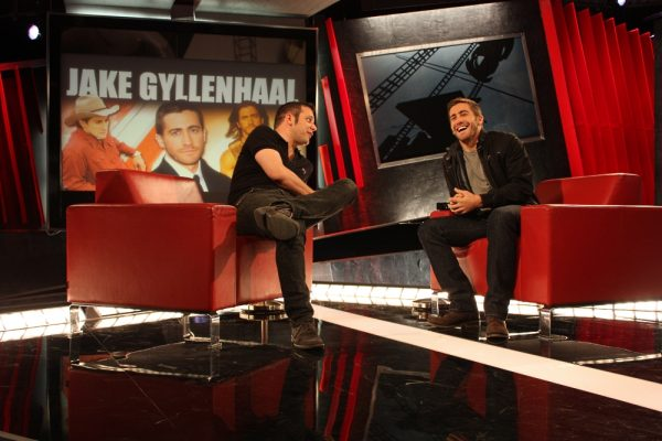 George Stroumboulopoulos and Jake Gyllenhaal on The Hour