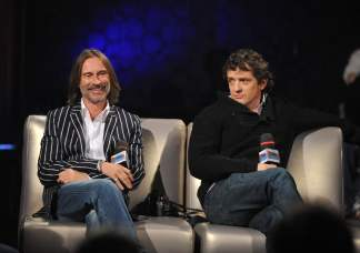 Robert Carlyle and Louis Ferreira from Stargate Universe on InnerSPACE