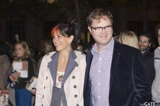 Holiday Reinhorn and husband Rainn Wilson