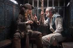 Johnny Depp and Kevin R. McNally