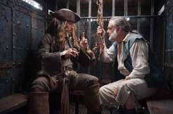 Johnny Depp and Kevin R. McNally