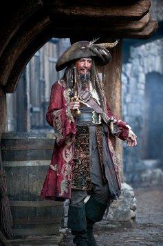 Keith Richards as Captain Teague