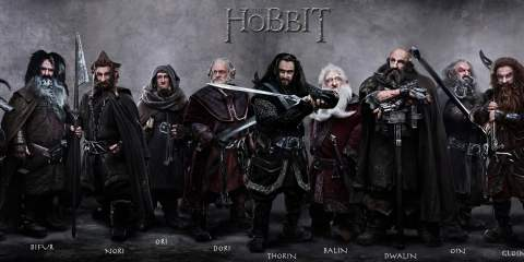 Dwarves of The Hobbit