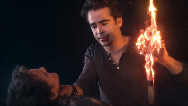 Colin Farrell as the bad ass vampire, Jerry