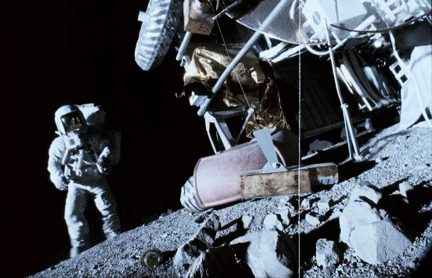 A scene from Apollo 18