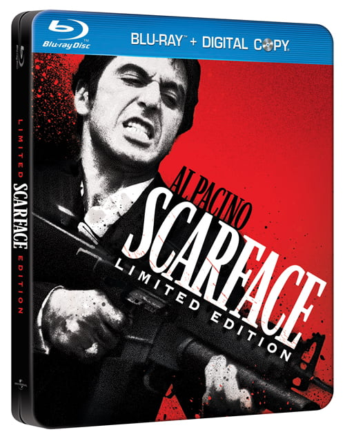 Scarface Blu-ray Steelbook