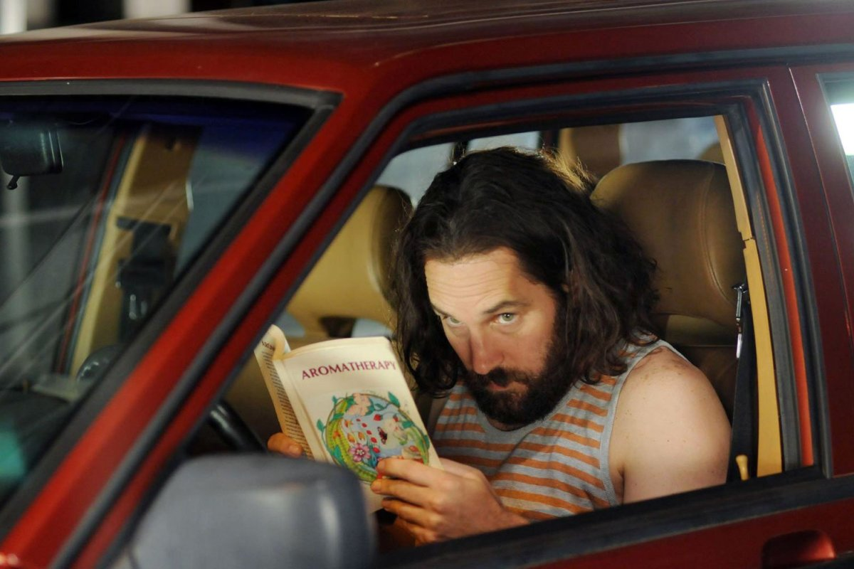 Paul Rudd in the comedy Our Idiot Brother