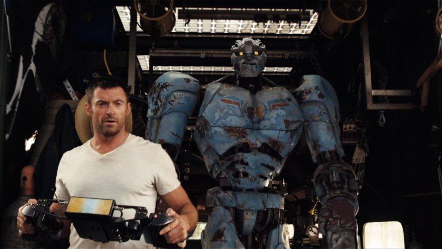Hugh Jackman in Real Steel