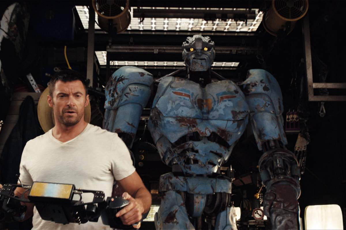 Hugh Jackman in Real Steel