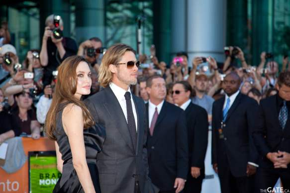 Angelina Jolie and Brad Pitt #4