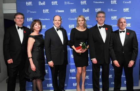 Prince Albert II at TIFF Lightbox