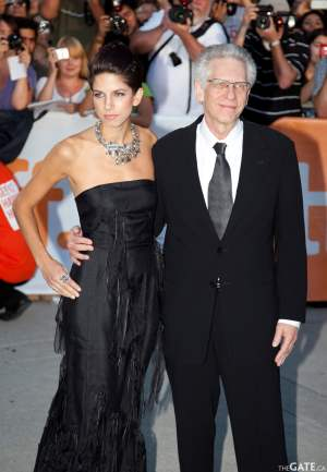 Caitlin Cronenberg and David Cronenberg