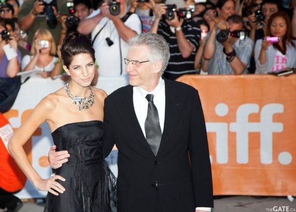 Caitlin Cronenberg and David Cronenberg #2