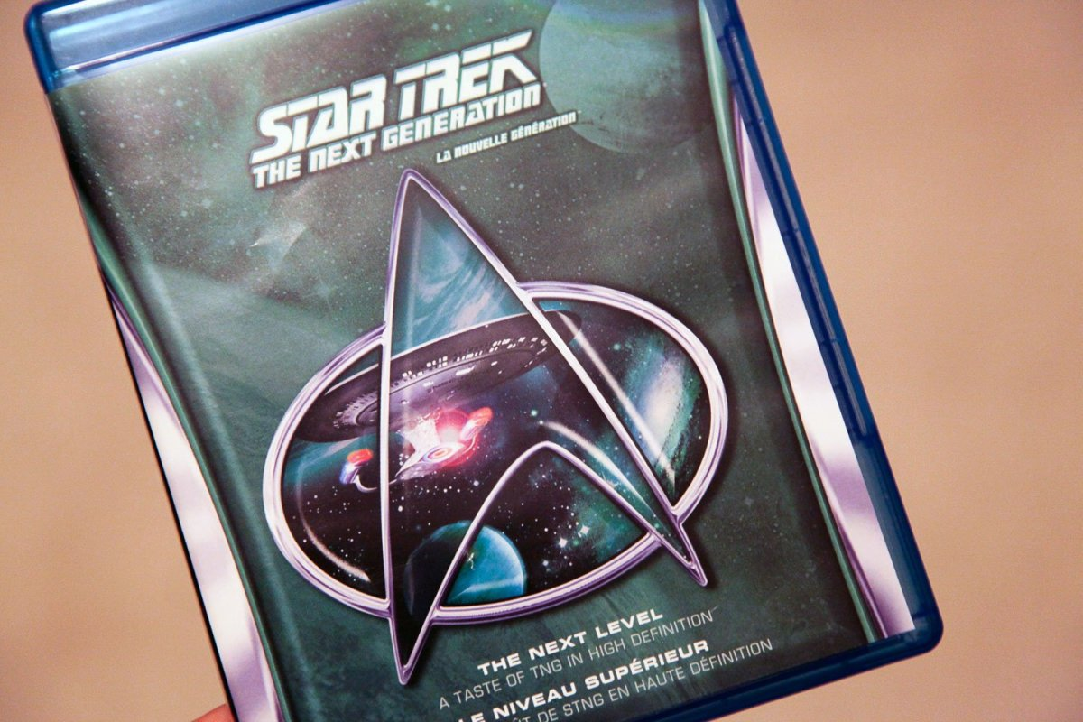 Star Trek The Next Generation Blu-ray sampler