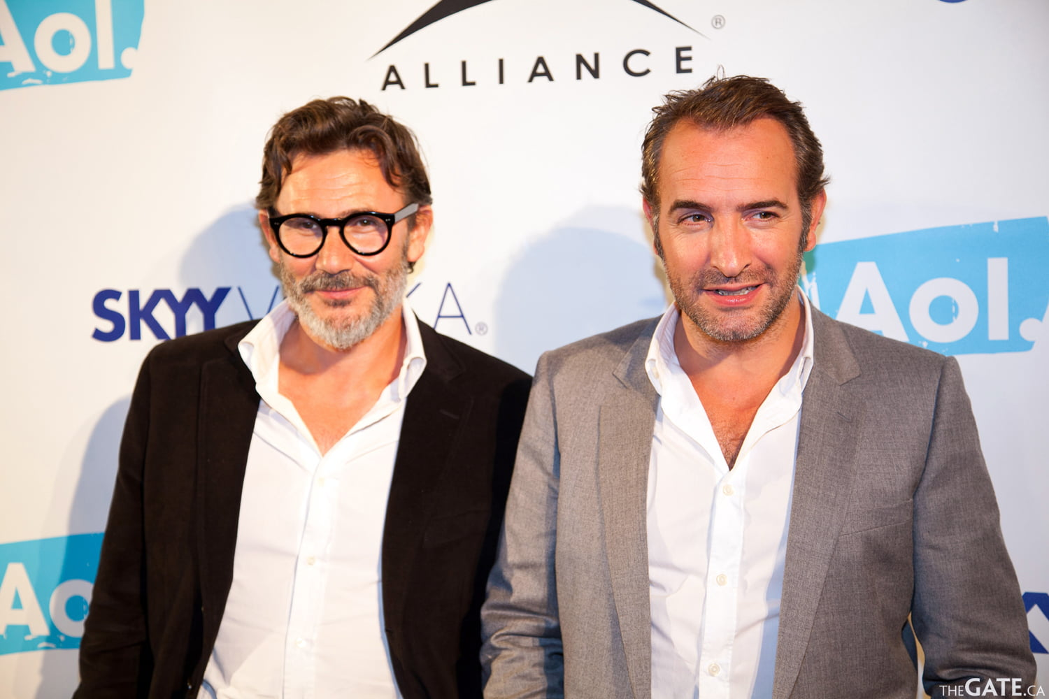 Michel Hazanavicius and Jean Dujardin